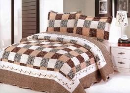 Set cuvertura pat+2 fete perna+2 perne gratis A46