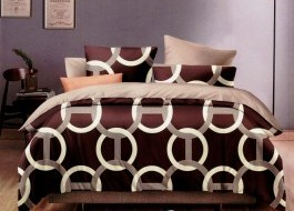 Set cuvertura pat+2 fete perna+2 perne gratis KFL4