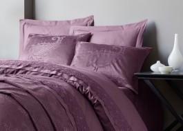 Set de lux 7 piese, lenjerie de pat + cuvertura, Cotton Box, Arden Damson