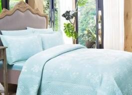 Set de lux cuvertura +2 fete de perna, TAC, Larsen Turquoise