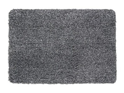 Covoras intrare din bumbac absorbant, 40x60 cm, gri