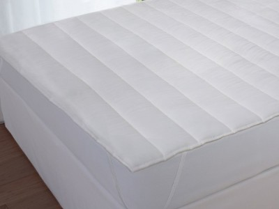 Protectie matlasata impermeabila 180x200cm Somnia, alba