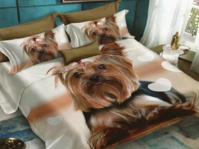 Lenjerie 3D finet 6 piese, Pucioasa, Catel Yorkshire Terrier FN3D66