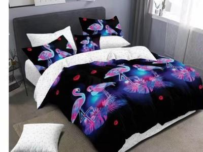 Lenjerie cu elastic din finet cu 6 piese, Pucioasa, Flamingo Multicolori