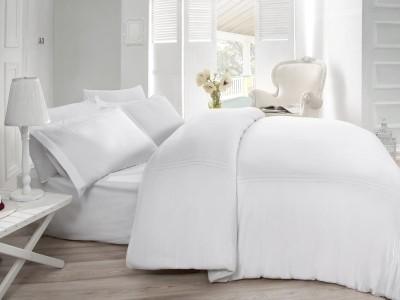 Lenjerie de pat de lux cu broderie, Cotton Box, Gulbin