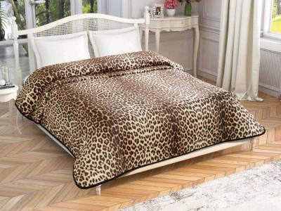 Patura de lux cu model TAC 220x240cm Leopard