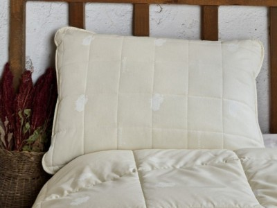 Perna umplutura lana, Cotton Box, 50x70 cm, Ecru