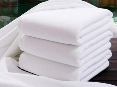 Prosop alb XXL bumbac 100% hotel, TAC, 90 x 150cm