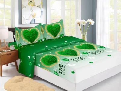 Set husa de pat din finet + 2 fete de perna pentru saltea de 160x200cm HPF3081