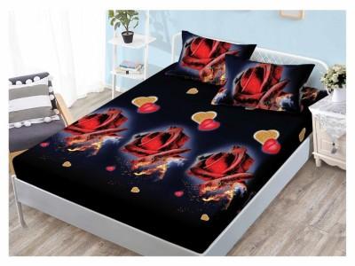 Set husa de pat din finet + 2 fete de perna pentru saltea de 160x200cm HPF70