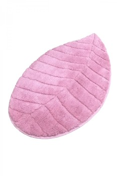 Covoras baie 60x100 cm, Alessia Home, Jungle Leaf - Pink