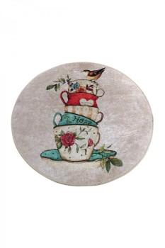 Covoras de baie, Alessia Home, Cup DJT, 100 cm