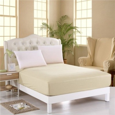 Husa de pat cu elastic 140x200cm crem