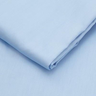 Cearceaf de pat satin cu elastic bumbac 100%, 140x200cm, blue
