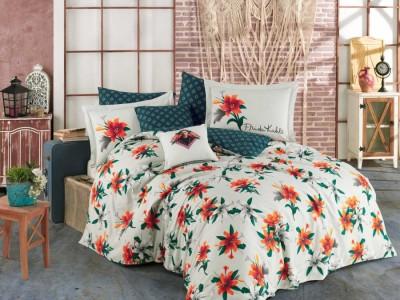 Lenjerie de pat bumbac 100% poplin, Hobby Home, Frida Kahlo Spring