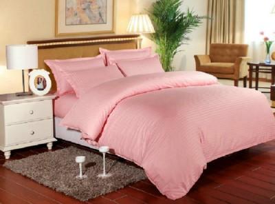 Lenjerie de pat damasc cu elastic ptr saltea de 140cm - banan