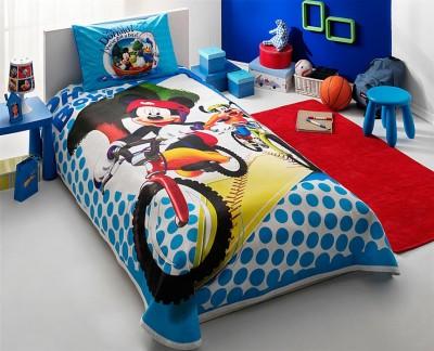 Lenjerie de pat TAC Disney 3piese Mickey& Goofy