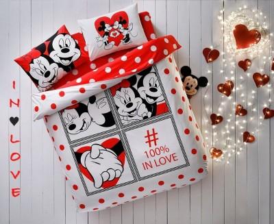 Lenjerie de pat dublu Tac Disney Minnie & Mickey Dotty