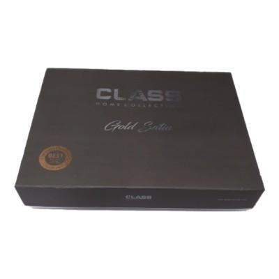 Lenjerie de pat satin de lux 6 piese, Class Home Collection, Alice V1