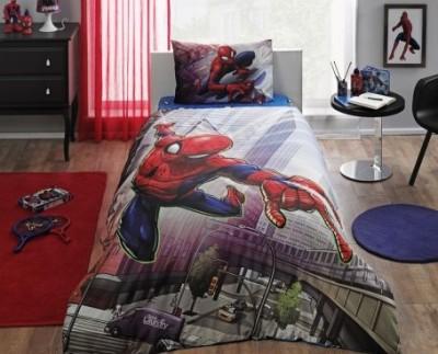 Lenjerie de pat TAC Disney 3 piese Spiderman Action