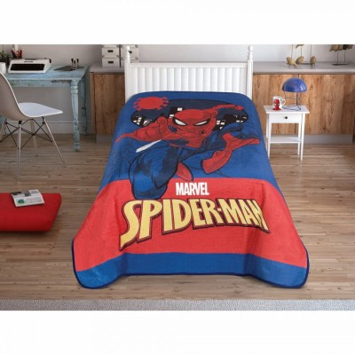 Patura de lux Tac 160x220cm, Disney Spiderman City