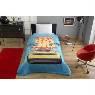 Patura de lux Tac 160x220cm, HOT WHEELS