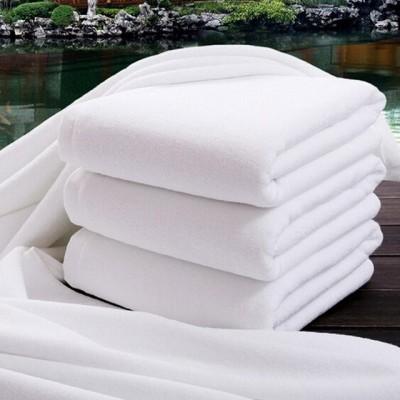 Prosop alb bumbac 100% hotel, TAC, 50x90cm