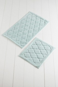 Set 2 covorase baie bumbac, Alessia Home, Dante - Mint