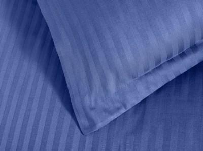 Set 2 fete de perna damasc 50x70 cm, Ralex Pucioasa,  culoarea albastru