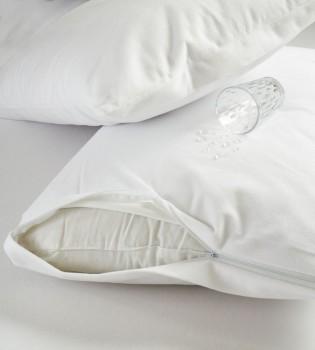 Set 2 fete perna impermeabile, Eponj Home, bumbac 100%,  50 x 70 cm