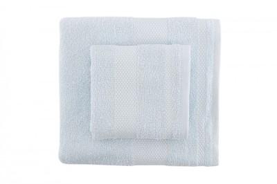 Set 2 prosoape bumbac 100%, Bahar Home, Tommy - Light Blue