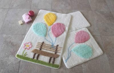 Set 3 covorase baie, Alessia Home, Balon - Pink