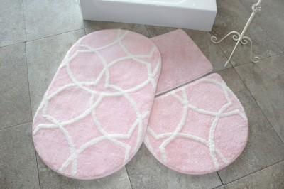 Set 3 covorase baie, Alessia Home, Bonne - Pink