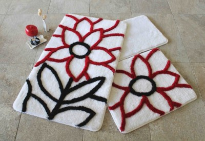 Set 3 covorase baie, Alessia Home, Naturel - Red
