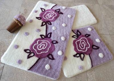 Set 3 covorase baie, Alessia Home, Oriel - Lilac