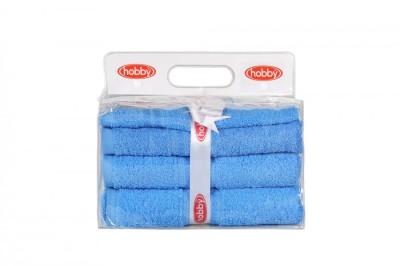 Set 3 prosoape bumbac 100%,Hobby Home Bleu