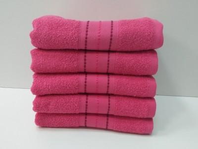 Set 5 prosoape fata bumbac 100% 50x90cm, roz 3
