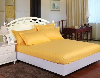 Set husa de pat din damasc+ 2 fete de perna pentru saltea de 140x200cm DHUS10