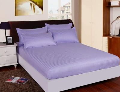 Set husa de pat din damasc+ 2 fete de perna pentru saltea de 140x200cm DHUS11