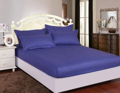 Set husa de pat din damasc+ 2 fete de perna pentru saltea de 140x200cm DHUS15