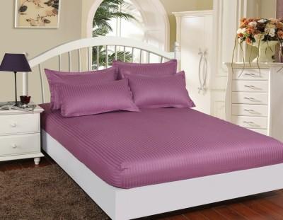 Set husa de pat din damasc+ 2 fete de perna pentru saltea de 140x200cm DHUS8
