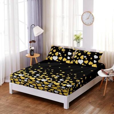 Set husa de pat din finet + 2 fete de perna pentru saltea de 140x200cm HPF226