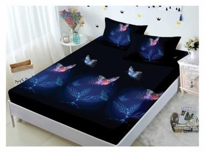 Set husa de pat din finet + 2 fete de perna pentru saltea de 160x200cm HPF223