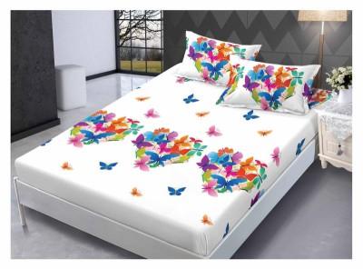 Set husa de pat din finet + 2 fete de perna pentru saltea de 160x200cm HPF224