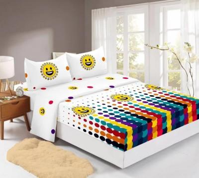 Set husa de pat din finet + 2 fete de perna pentru saltea de 160x200cm HPF3121