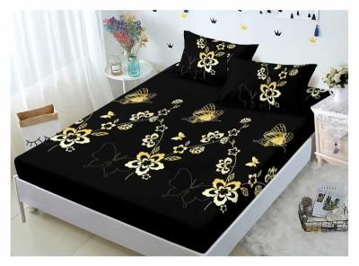 Set husa de pat din finet + 2 fete de perna pentru saltea de 180x200cm HPF321