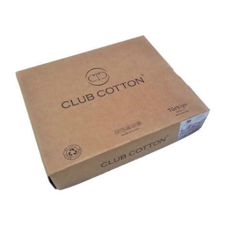 Lenjerie pat dublu bumbac 100% ranforce, Club Cotton, Ances