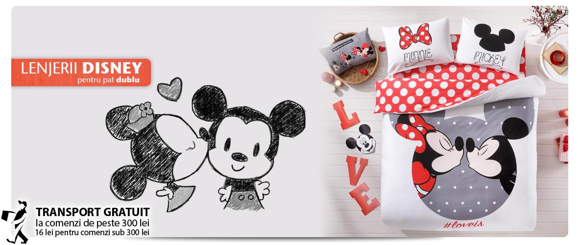 Lenjerii de pat Disney